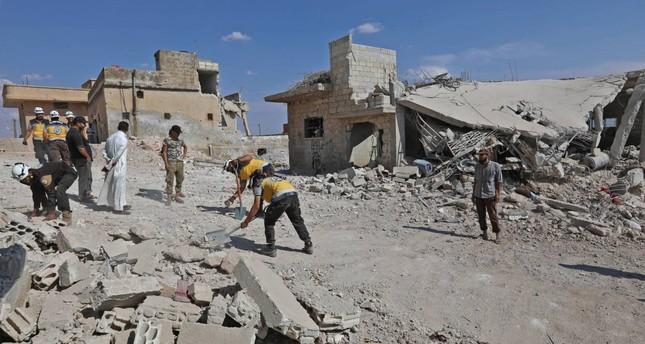 مقتل 26 شخصا في قصف للتحالف الدولي على بلدة هجين في شرق سوريا