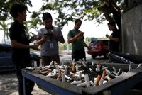The Philippines implemented a nationwide smoking ban Sunday in accordance with an Executive Order signed by President Rodrigo Duterte.  The order was signed in May and establishes no smoking...