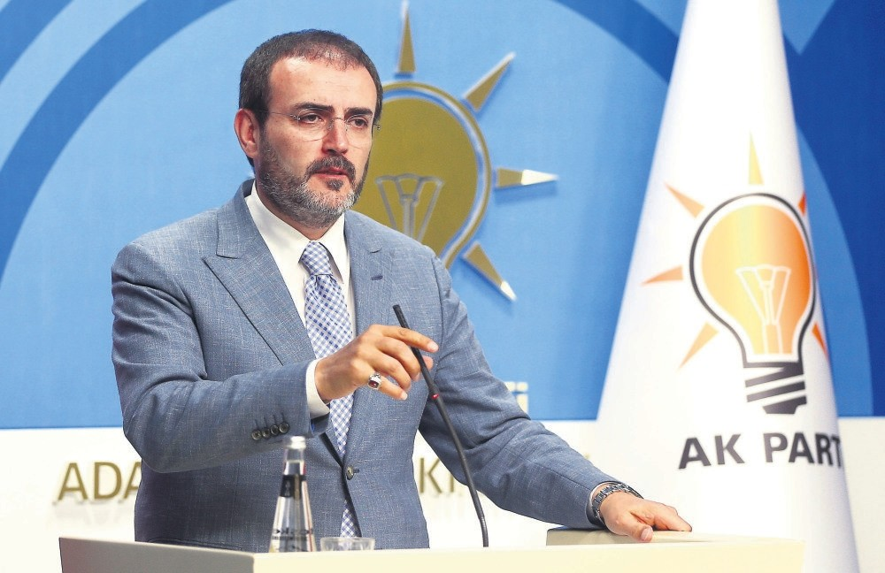 Ak Party Spokesperson Mahir u00dcnal said: ,It's illegal to call on the masses to hit the street against the government everywhere in the world.