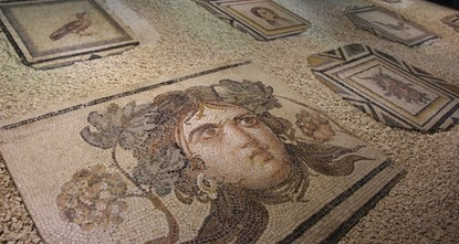 Visitors flock to see historic 'Gypsy Girl' mosaic
