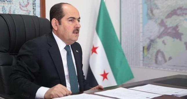 رئيس الائتلاف الوطني لقوى الثورة والمعارضة السورية عبد الرحمن مصطفى (موقع الائتلاف)