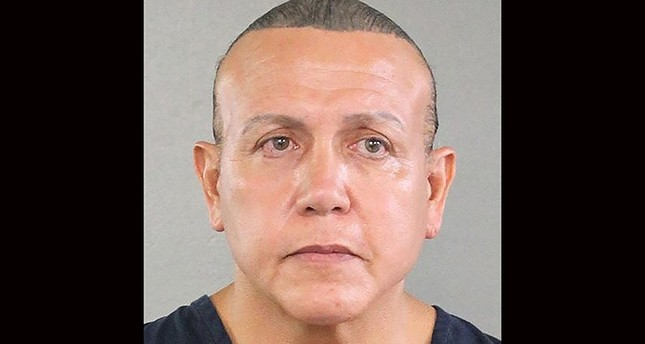 This file handout mugshot obtained courtesy of the Broward County Sheriff's Office shows an August 2015 booking photo of Cesar Sayoc. (AFP Photo)