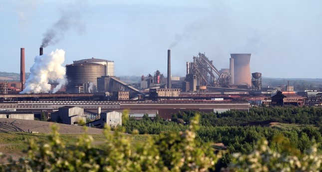 The British Steel works in Scunthorpe, northern England, May 21, 2019. (Reuters File Photo)