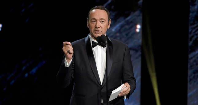 In this Oct. 27, 2017, file photo, Kevin Spacey presents an award in Beverly Hills, Calif. (AP Photo)