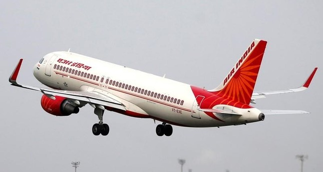 An Air India aircraft takes off from the Sardar Vallabhbhai Patel International Airport in Ahmedabad, India, July 7, 2017 (Reuters Photo)