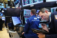 The euro and most stock markets surged Monday after moderate candidate Emmanuel Macron won the first round of France's presidential election and looked set to triumph in the run-off against...