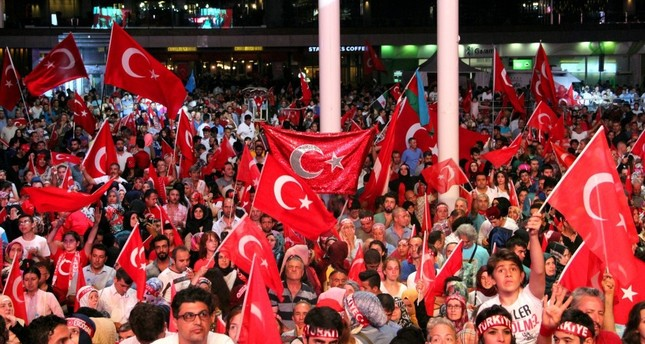 Public interest in democracy rallies prevails weeks after coup attempt