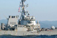 7 sailors missing after US Navy destroyer collides with ship off Japan