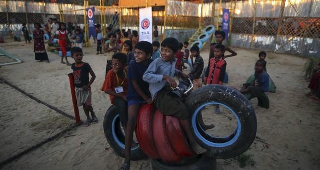 Turkish agencies offer lifeline to suffering Rohingya Muslims
