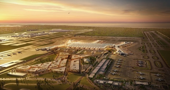 Currently under construction, Istanbul New Airport is expected to formally open to air traffic on Oct. 29.