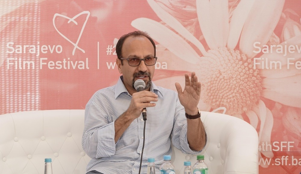 Asghar Farhadi met with members of the press at SFF with ,Coffee with, program.