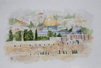 'My Cities' exhibition by young artist from Jerusalem opens