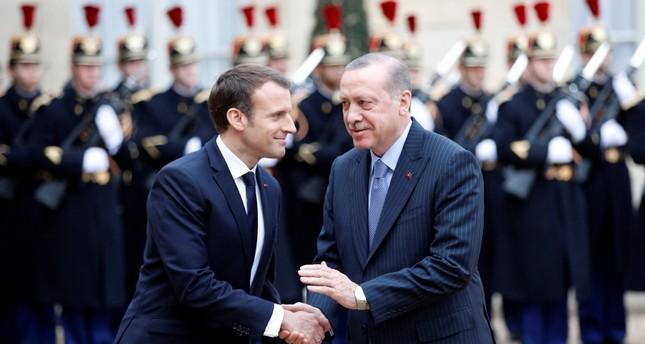 أردوغان يدعو فرنسا ودول التحالف الدولي للإقرار بحق تركيا في تواجدها بسوريا