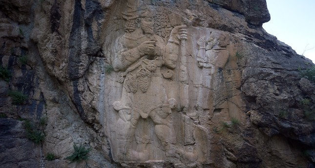 The İvriz relief is the first agricultural monument in the history of the world.