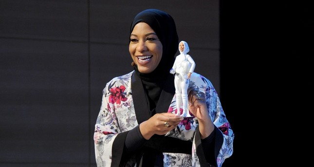 Photo taken from Ibtihaj Muhammad's Twitter feed