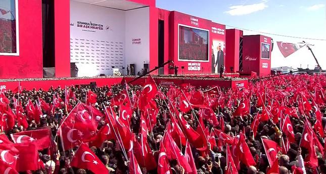 إسطنبول تحتضن اليوم التجمع الانتخابي الأضخم بحضور أردوغان وبهتشيلي