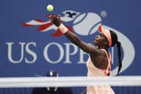 Sloane Stephens never looked shaken by the setting or the stakes in her first Grand Slam final. Her opponent, Madison Keys, most definitely did.  Stephens dominated her close friend Keys 6-3,...