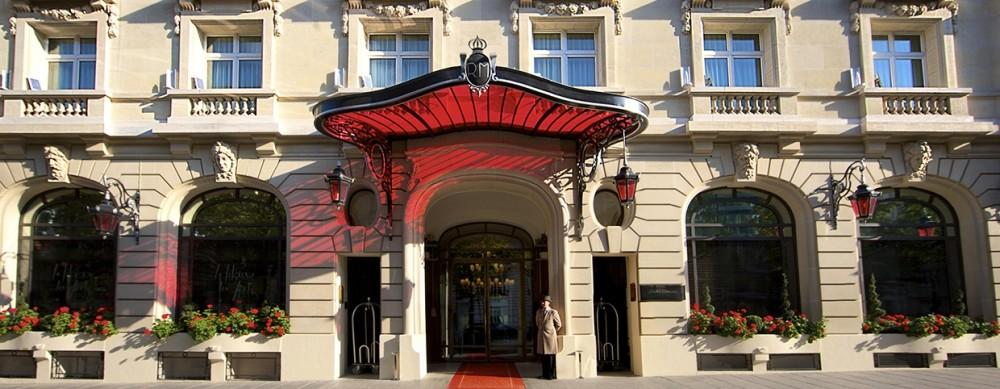 Le Royal Monceau Raffles Hotel.