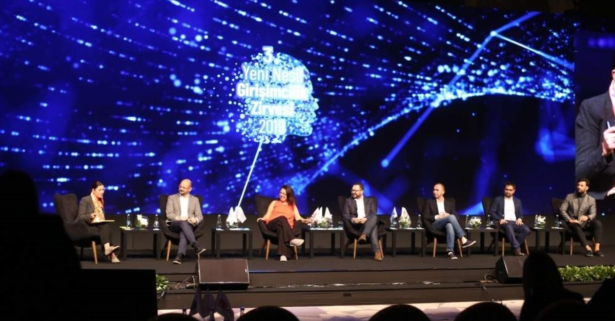 Many managers, founders and startups operating on a global level shared their stories on the sidelines of the New Generation Entrepreneurship Summit, Istanbul, Nov. 27, 2019.