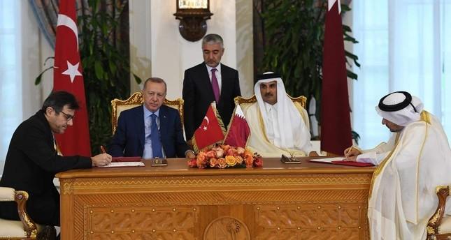 Turkish, Qatari financial authorities sign deal to expand economic, financial ties