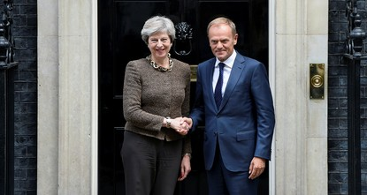 pEuropean Council President Donald Tusk said Tuesday that Brexit talks haven't yet made sufficient progress to begin negotiating a new relationship between Britain and the European Union. But he's...