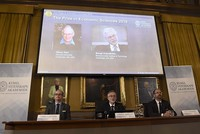 Oliver Hart from US, Finland's Bengt Holmstrom win Nobel Economics Prize for contract theory contribution