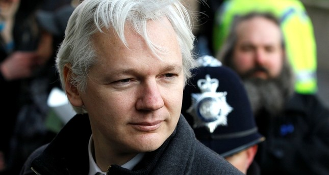 In this Feb. 1, 2012 file photo, Julian Assange, WikiLeaks founder, arrives at the Supreme Court in London. (AP Photo)