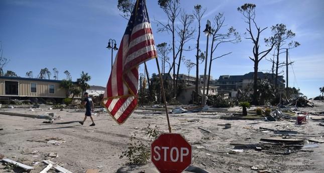 حصيلة الاعصار مايكل ترتفع إلى 17 قتيلا في الولايات المتحدة