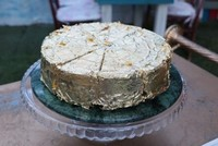 Fancy some sweets? Try this golden cake