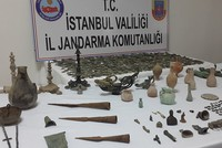 1,981 ancient artifacts seized during anti-smuggling operation in Istanbul