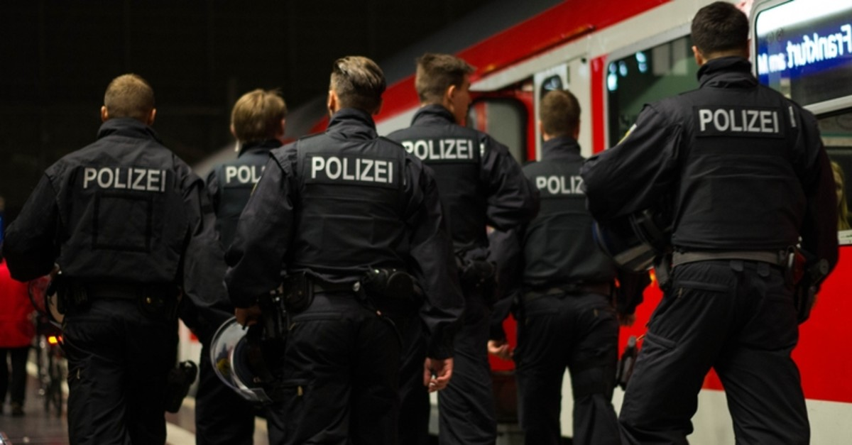 This file photo shows police officers patrol in Frankfurt am Main railway station, on Oct. 25, 2016. (iStock Photo)