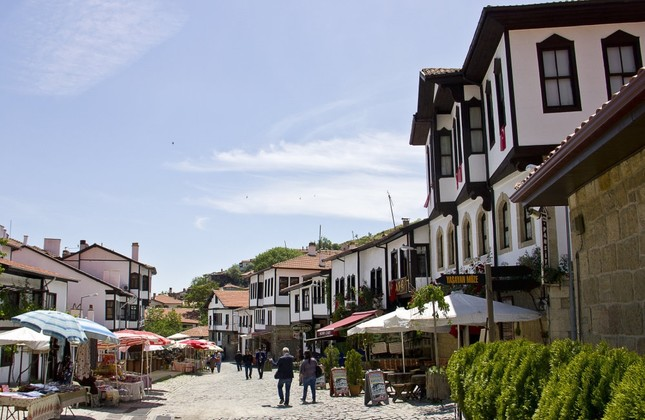 Beypazarı is a small town which is also famous for its historic houses.