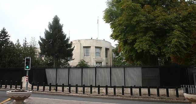 The US Embassy in Ankara. (AA Photo)