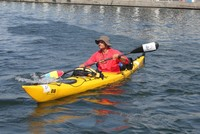 Can you traverse the immense Black Sea in a kayak and endure paddling for hours? This is what Chirazi Marian, an academic from a Romanian university in Iasi, hopes to answer as he makes a solo...