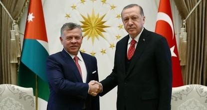 Эрдоган и король Иордании Абдалла II обсудили события в секторе Газа