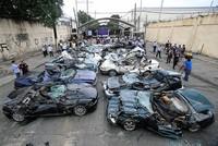 Philippines' Duterte wreaks havoc on smuggled luxury cars