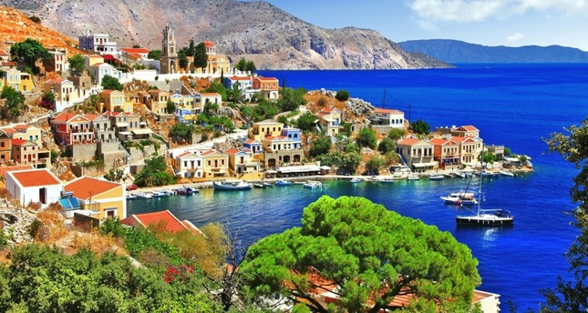 Take a ferry from Turkey to Greece for quick getaways