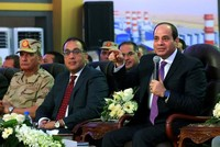 Egypt's Sissi 'upset' over hashtag calling for his departure