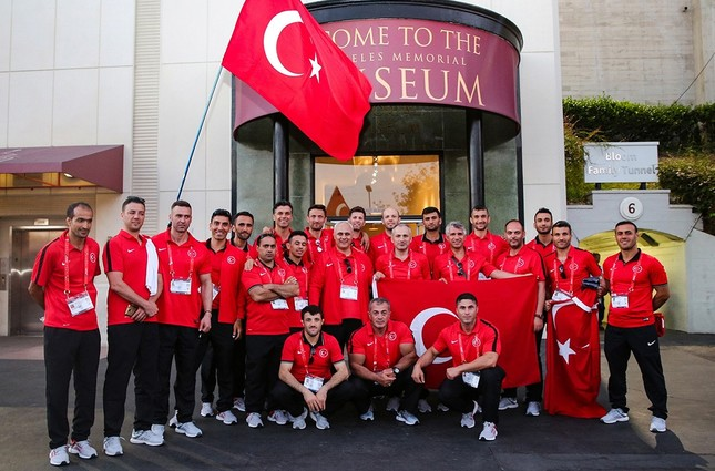 Istanbul firefighters become world champion at WPFG