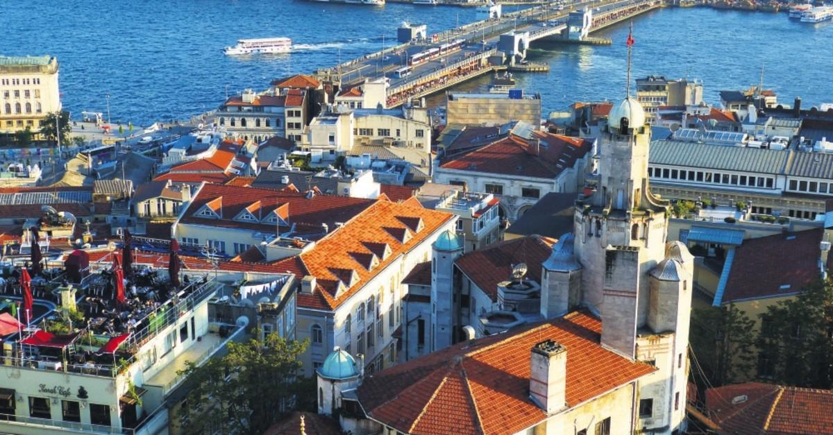 An amazing Bosporus view from Galata, Istanbul.