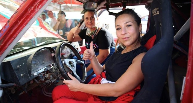 Women drivers new stars of off-road racing