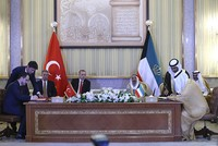 Erdoğan discusses regional issues, bilateral ties with Kuwaiti emir