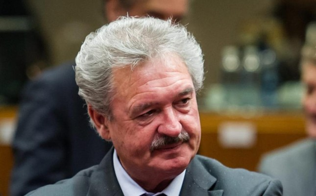 Photo shows Luxembourgish Foreign Minister Jean Asselborn. FILE Photo