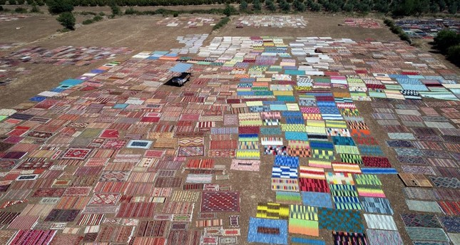 The carpet fields of Antalya offer a colorful sight for photographers and draws a huge number of visitors.