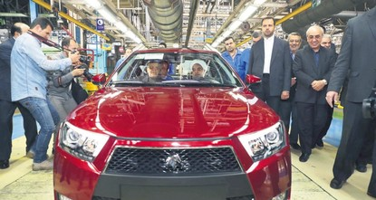 French carmakers PSA and Renault are turning their U.S. absence into an Iranian advantage by piling into a resurgent market still off-limits to foreign rivals fearful of sanctions under Donald...