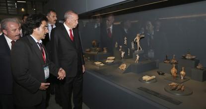 President Erdoğan opens Troy Museum