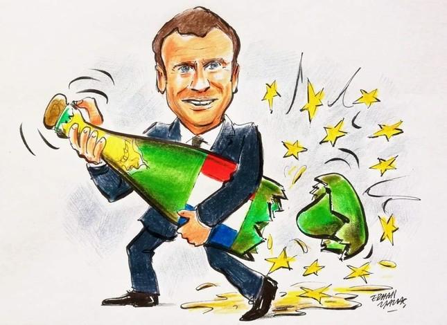 Emmanuel Macron agitates and destabilizes Europe