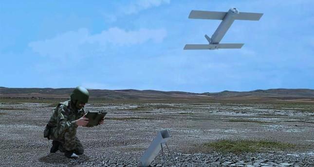 The ALPAGU kamikaze drone (AA Photo)
