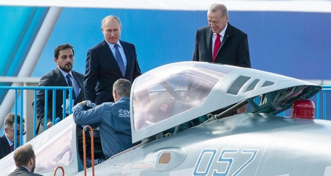 Turkey, Russia interested in fighter jet deal, Kremlin says as talks continue