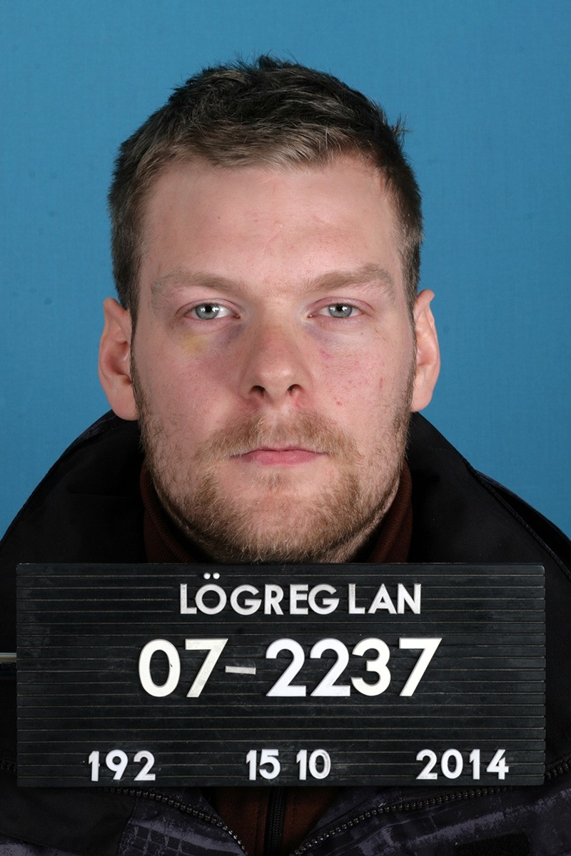 This Oct. 15, 2014, photo made available by The Reykjavu00edk Metropolitan Police shows Sindri Thor Stefansson. (AP Photo)